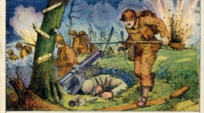 1518/28 septembre 1918: reprise du chemin des Dames (Aisne)