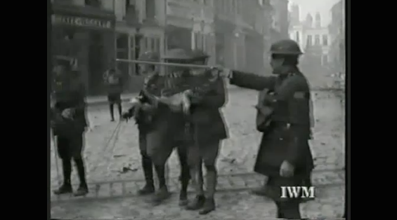 1529/9 octobre 1918: (Vidéo) Des Canadiens délivrent Cambrai (Nord)