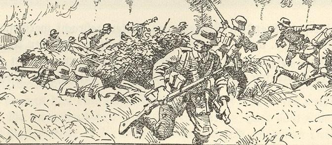 1531/11 octobre 1918: combats de Sissonne (Aisne)