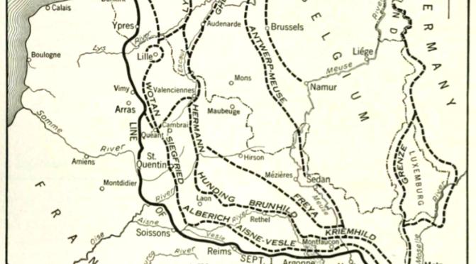 1508/18 septembre 1918: bataille de la ligne Hindenburg