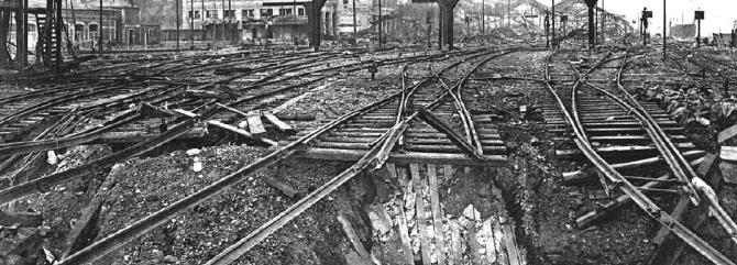 1557/6 novembre 1918: Charleville (Ardennes) : le bombardement