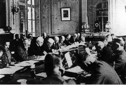 1559/8 novembre: discussion et conclusion de l'armistice