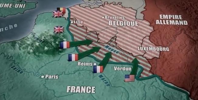 1560/9 novembre 1918: (Vidéo) la victoire des alliés et l'armistice