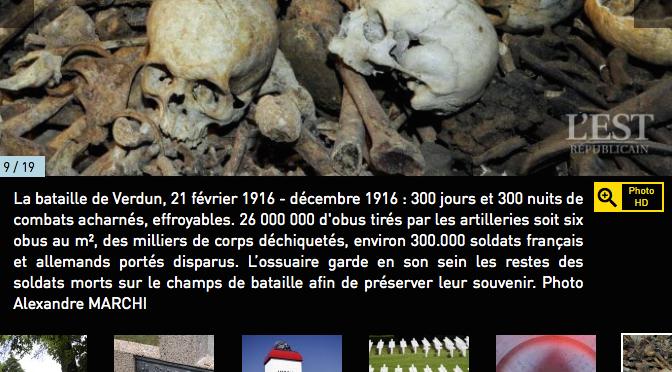 Une carte interactive pour visiter les sites de la Grande Guerre et randonner