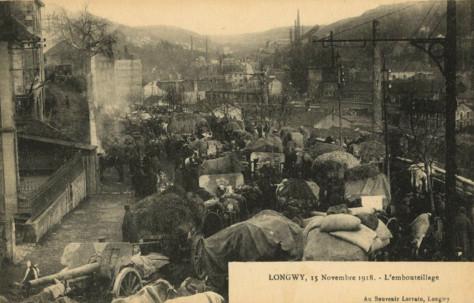 1566/15 novembre 1918: les allemands quittent la meurthe-et-Moselle