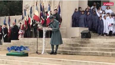Revivez la cérémonie du 11-Novembre à Reims, ville martyre