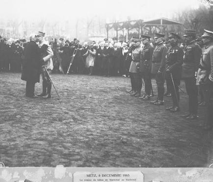 1589/8 décembre 1918: Philippe Pétain, Maréchal de France
