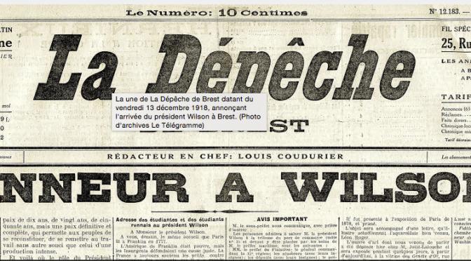 1594/13 décembre 1918: un président américain à Brest