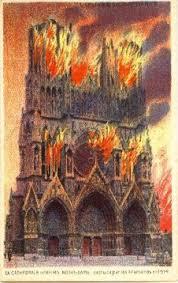 L'incendie de la cathédrale de Reims du 19 septembre 1914 aurait-il été prémédité ?