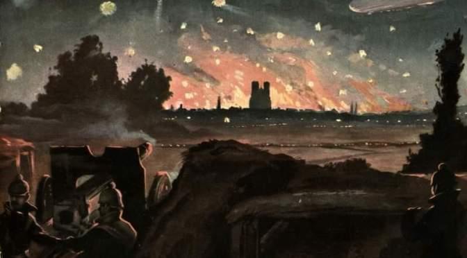 1914 -Incendie de la cathédrale de Reims: témoignage posthume