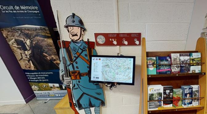 Visite virtuelle du musée 1914-1918 de suippes (Marne)